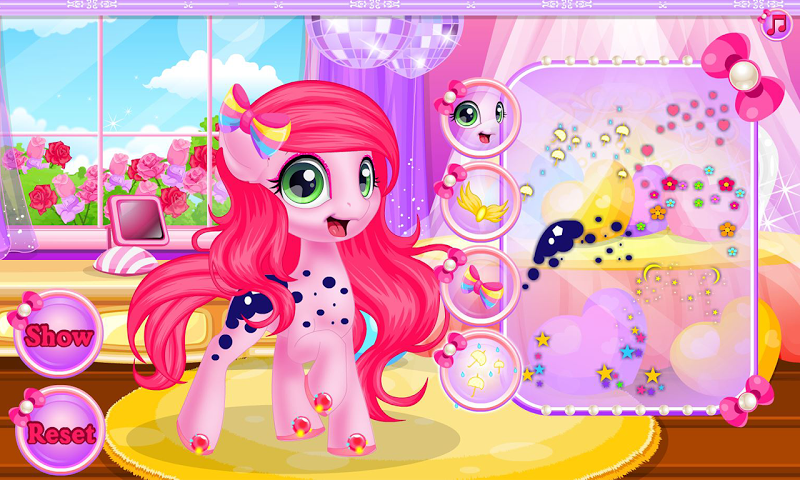 android Baby pony grooming makeover Screenshot 5