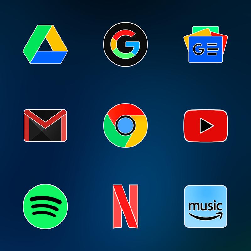 FLUOXYGEN - ICON PACK Screenshot 4