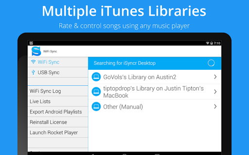 iSyncr for iTunes screenshot 17