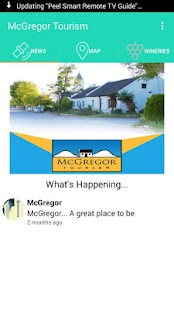 McGregor Tourism - screenshot