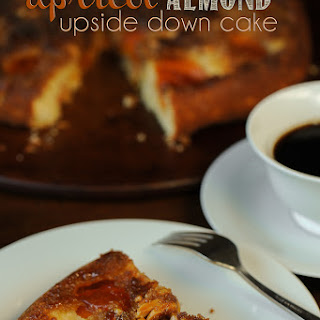 Apricot Almond Upside Down Cake