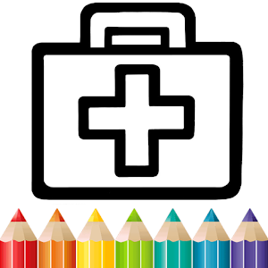 Toy Doctor Set coloring and drawing for Kids For PC / Windows 7/8/10 / Mac – Free Download