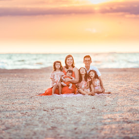 My Perfect Family by David Barone-Vu - People Family ( babies, sand, sunset, family, d800, 70-200mm, nikkor, kids, beach, nikon, diy, golden hour )