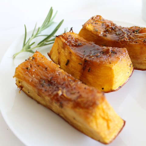 Sweet Pumpkin Rosemary Wedges