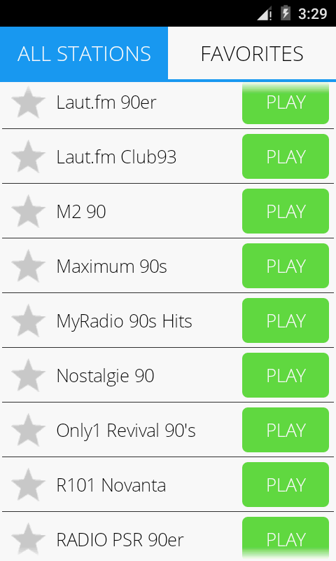 90s Music Radio Pro Screenshot 3