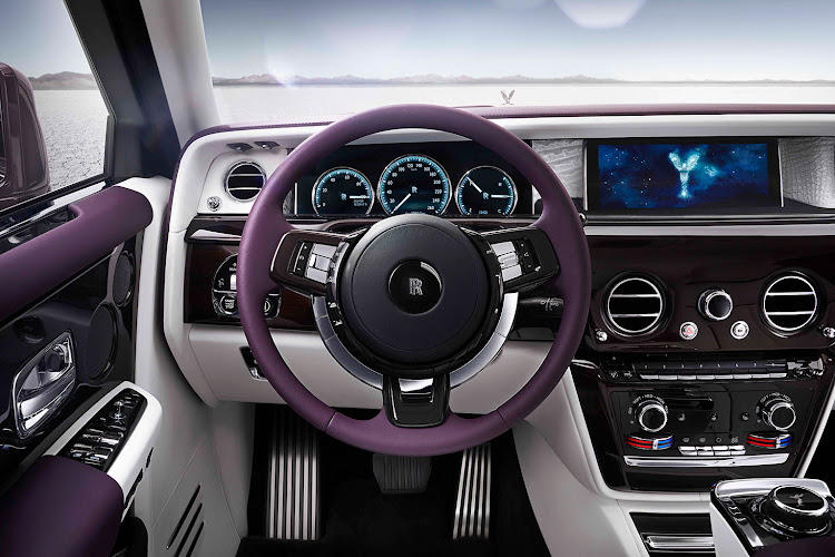 Technology such as the digital screens, has been well integrated into the luxury feel