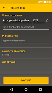 Easy Taxi - Book Taxi Cab App Screenshot
