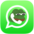 Pepe the Frog, stickers 4 chat APK for Bluestacks