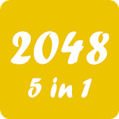 Game 2048 Puzzle 5 in 1 apk for kindle fire
