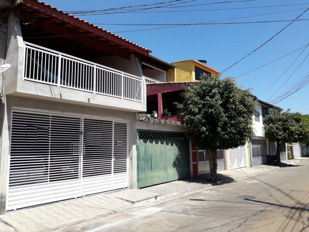 Sobrado com edícula 2 dormitórios à venda, 116 m² por R$ 380.000 - Cidade Serodio - Guarulhos/SP