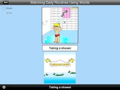 Match Daily Routines Using Wrd - screenshot