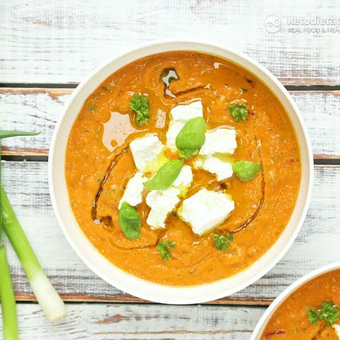 Creamy Red Gazpacho
