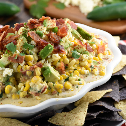 Ultimate Mexican Street Corn Dip
