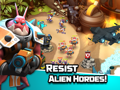 Game Alien Creeps TD APK for Kindle