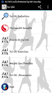 Tai Chi Fitness app screenshot for Android