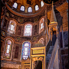 Hagia Sophia by Harvey Horowitz - Buildings & Architecture Places of Worship