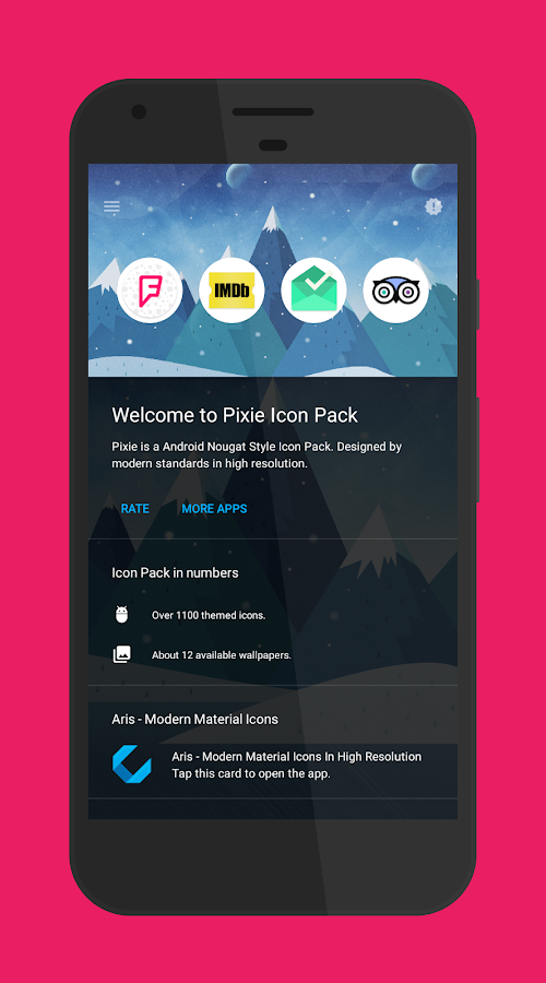 Pixie - Icon Pack Screenshot 4
