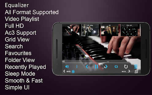 Best All Format HD Video Player Screenshot