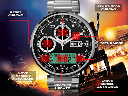 Shift watch Face- screenshot thumbnail
