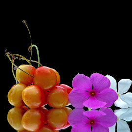 Cherries by Asif Bora - Food & Drink Fruits & Vegetables