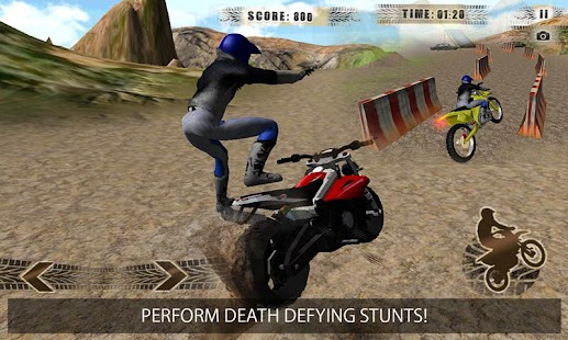 Crazy Offroad Mountain Biker- screenshot thumbnail