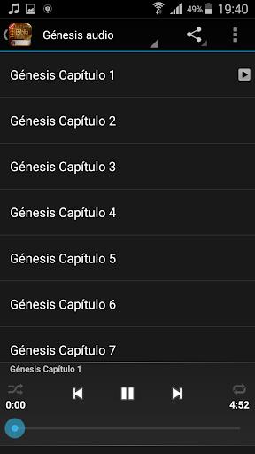 Spanish Bible Audio screenshot 3