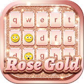 Rose Gold Keyboard