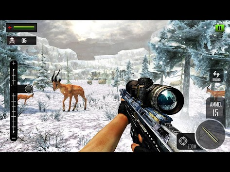 Sniper Deer Hunting Modern FPS Shooting Game APK screenshot thumbnail 8