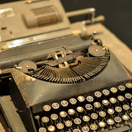 Antique Typewritter by Michael Lee - Artistic Objects Antiques ( office, old, typewritter, rusty, antique )