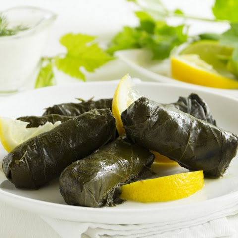 Dolmas - Greek Stuffed Grape Leaves