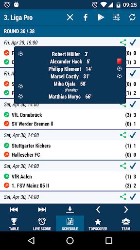 3. Liga Pro - screenshot