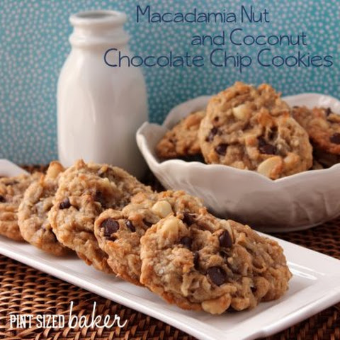 Chocolate Chip Macadamia Nut and Coconut Cookies