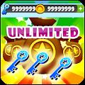 Unlimited Keys & Coins Subway