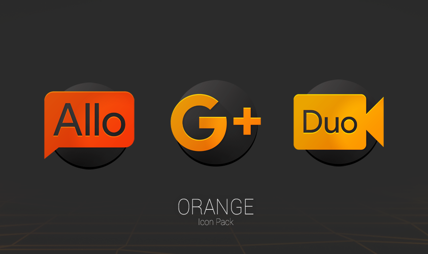 ORANGE - Icon Pack Screenshot 2