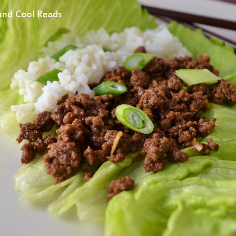 Korean Ground Beef Lettuce Wraps