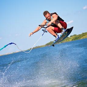 Wakeboarding by Dustin Wawryk - Sports & Fitness Watersports