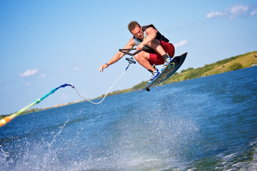 Wakeboarding by Dustin Wawryk - Sports & Fitness Watersports