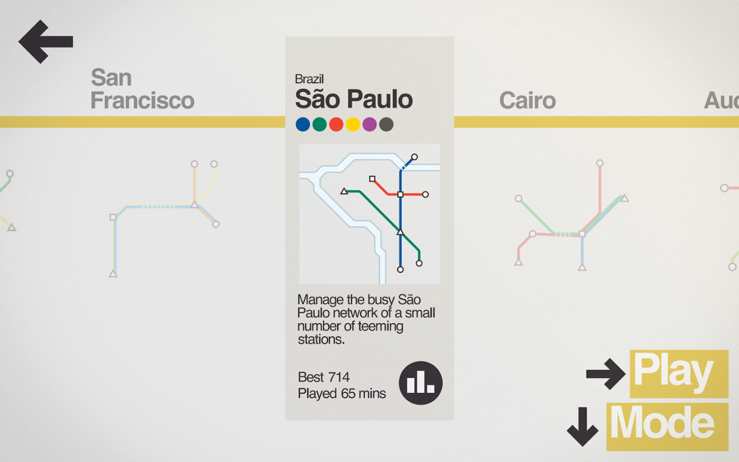 Mini Metro Screenshot 12
