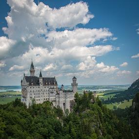 Neuschwanstein, Germany by Horizon Photo - Buildings & Architecture Public & Historical ( neuschwanstein )