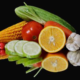 lemons by SANGEETA MENA  - Food & Drink Fruits & Vegetables