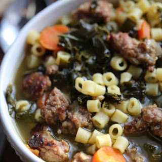 Crock Pot Italian Sausage Wedding Soup