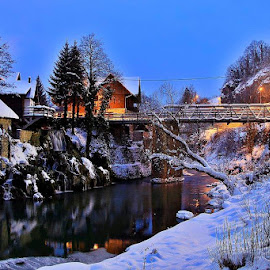 Rastoke-town Slunj by Zvonimir Đarmati - Landscapes Weather