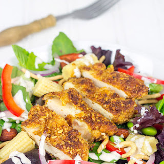 Sriracha Almond Chicken Salad