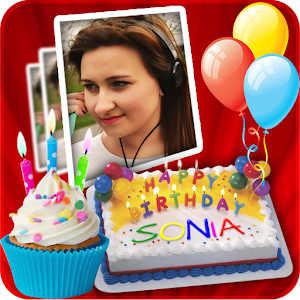 Birthday Cake Images With Name And Photo Editor : Name On Birthday Cake - Android Apps on Google Play