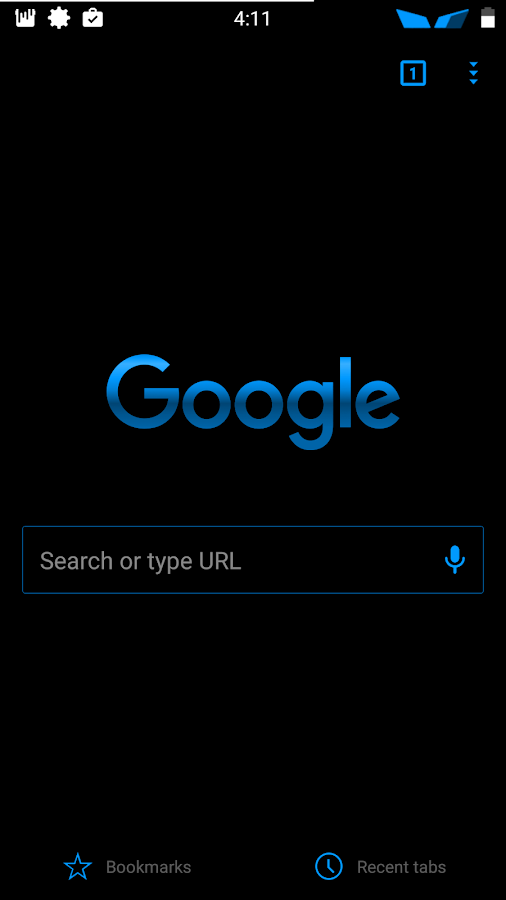Blu XS CM12-13 Theme Screenshot 4