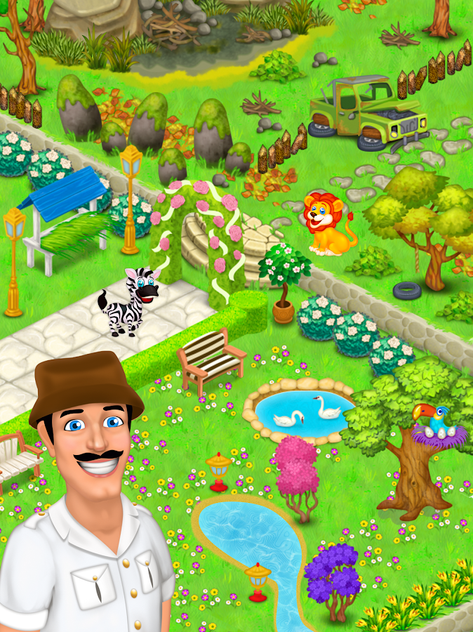 Zoo Rescue: Match 3 & Animals Screenshot 2