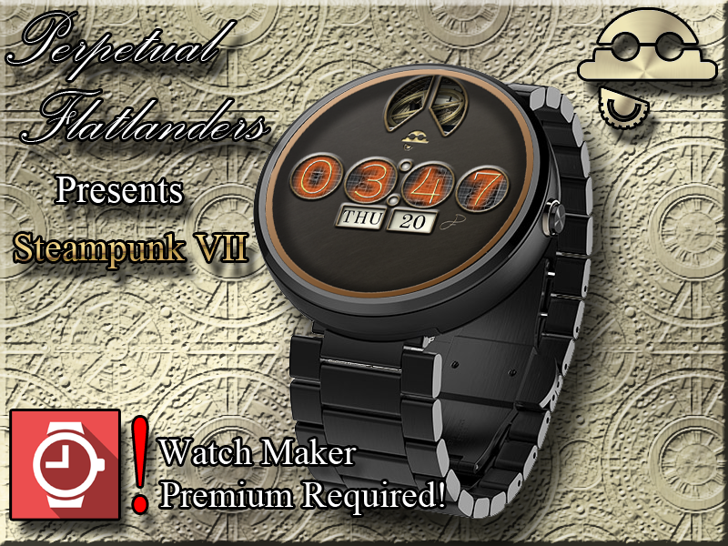 Steampunk VII for WatchMaker Screenshot 0