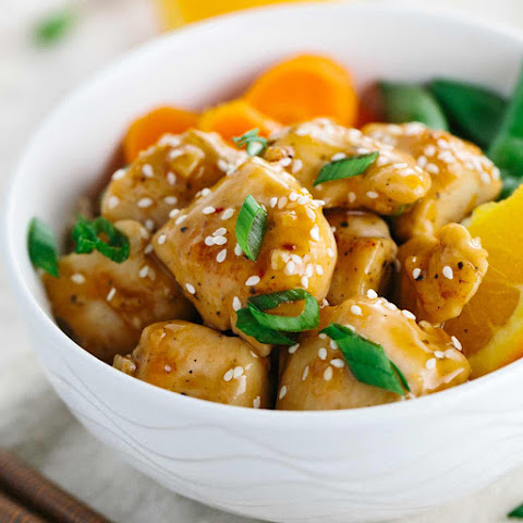 One Pan Chinese Orange Chicken