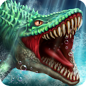Game Jurassic Dino Water World APK for Kindle