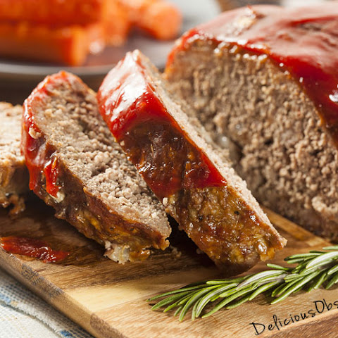 Basic Grass-fed Beef Meatloaf